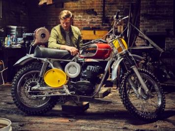 Steve McQueen's Badass Husqvarna Viking 360 is Up for Sale