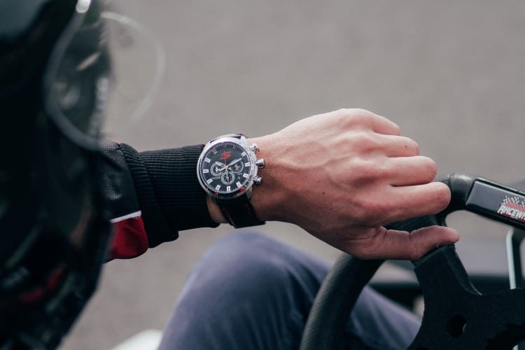 pulsar v8 limited edition watch lifestyle