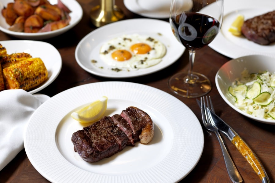 cut bar and grill steakhouse foods varieties