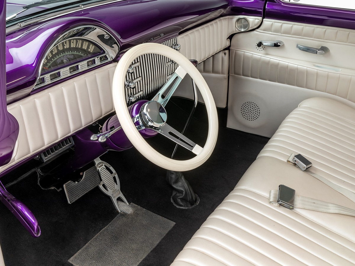 The james hetfield collection purple interior