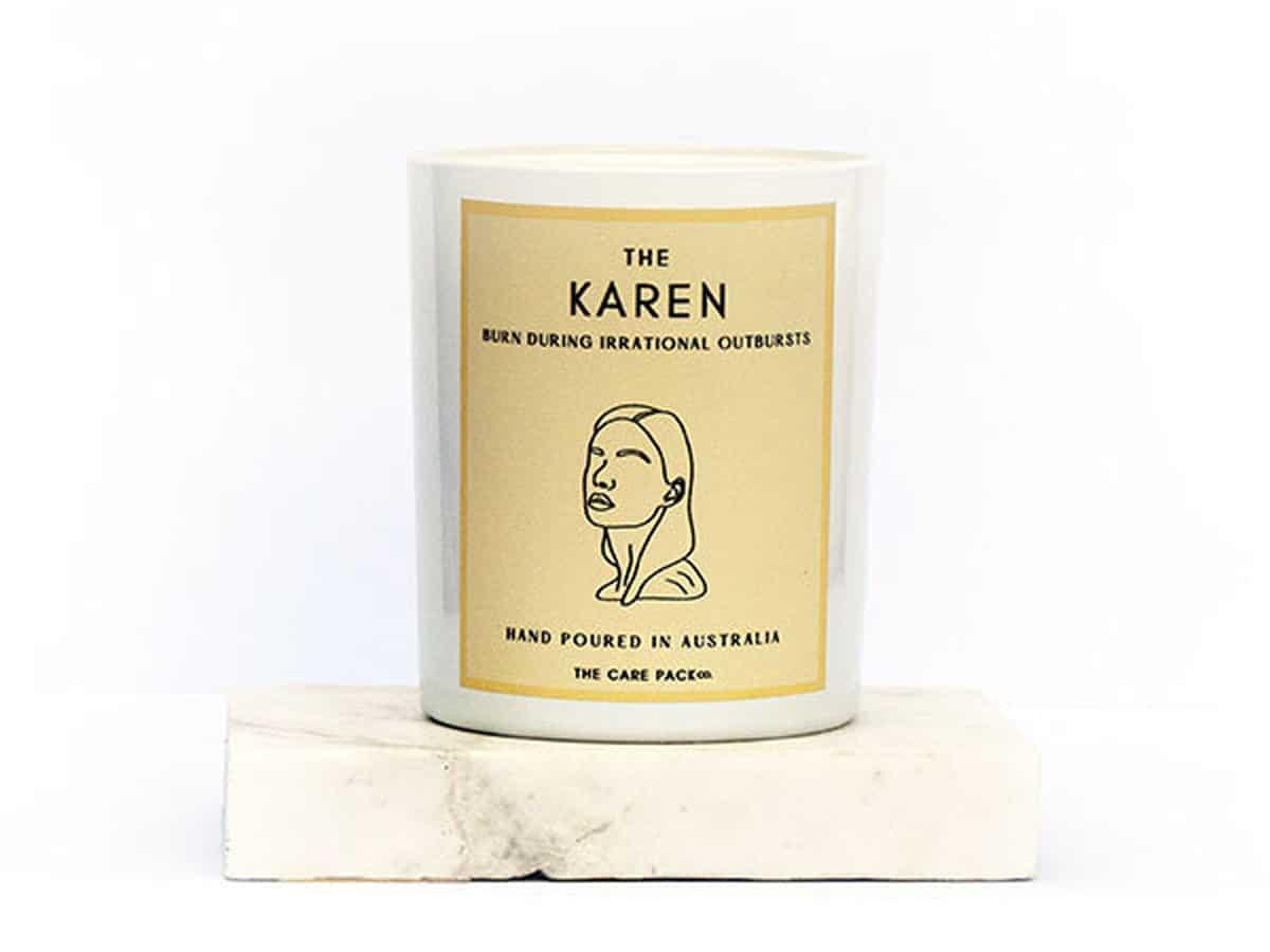 The karen candle