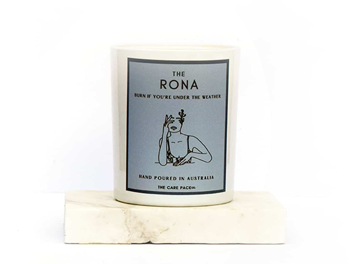 The rona candle
