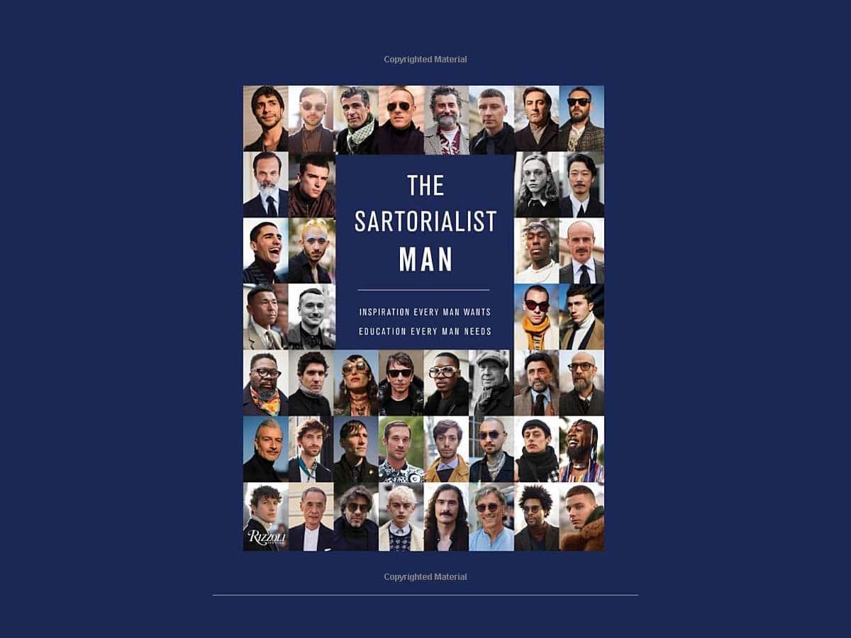 The sartorialist man book