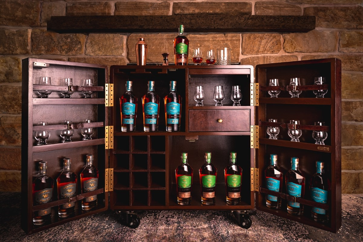 The whisky club westward rum cask single malt whiskey 15