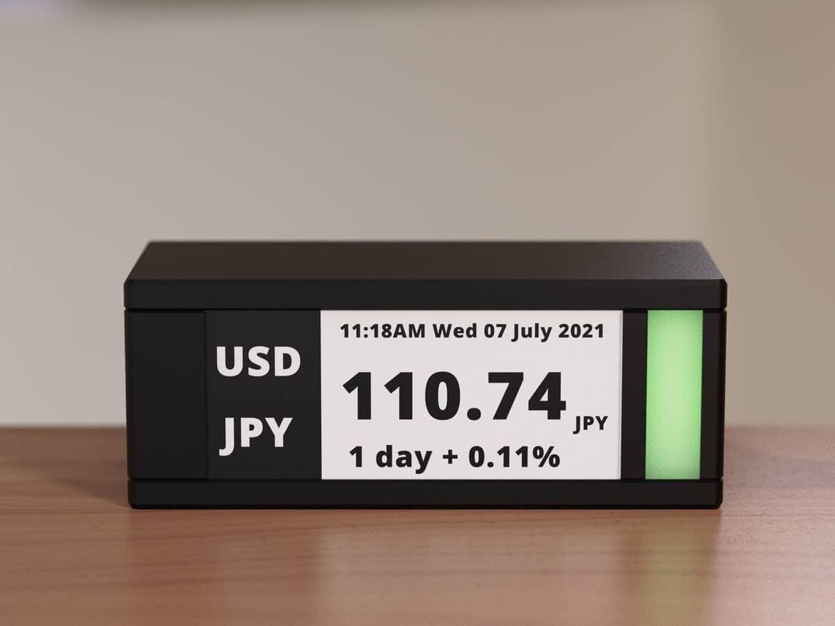Tickrmeter desktop stock ticker 1