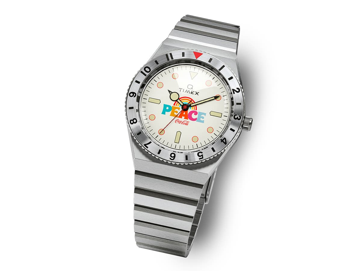 Timex x coca cola unity collection peace