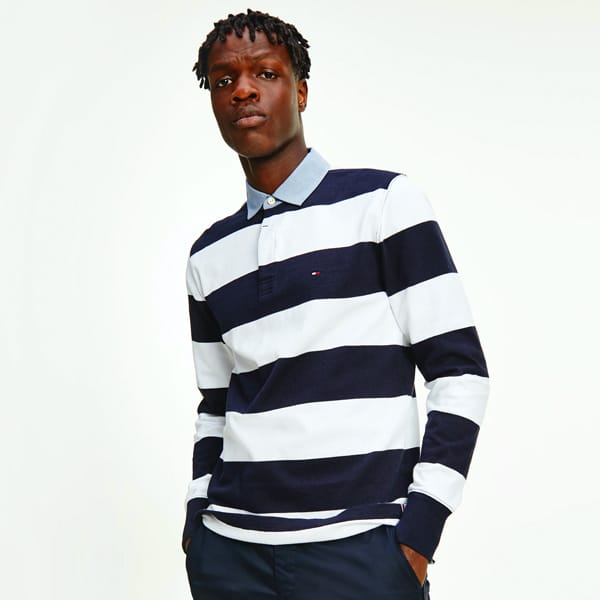 Tommy hilfiger rugby shirt square