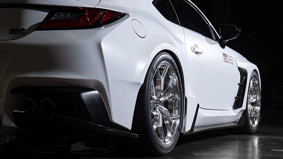 Toyota gr86 concept fitment
