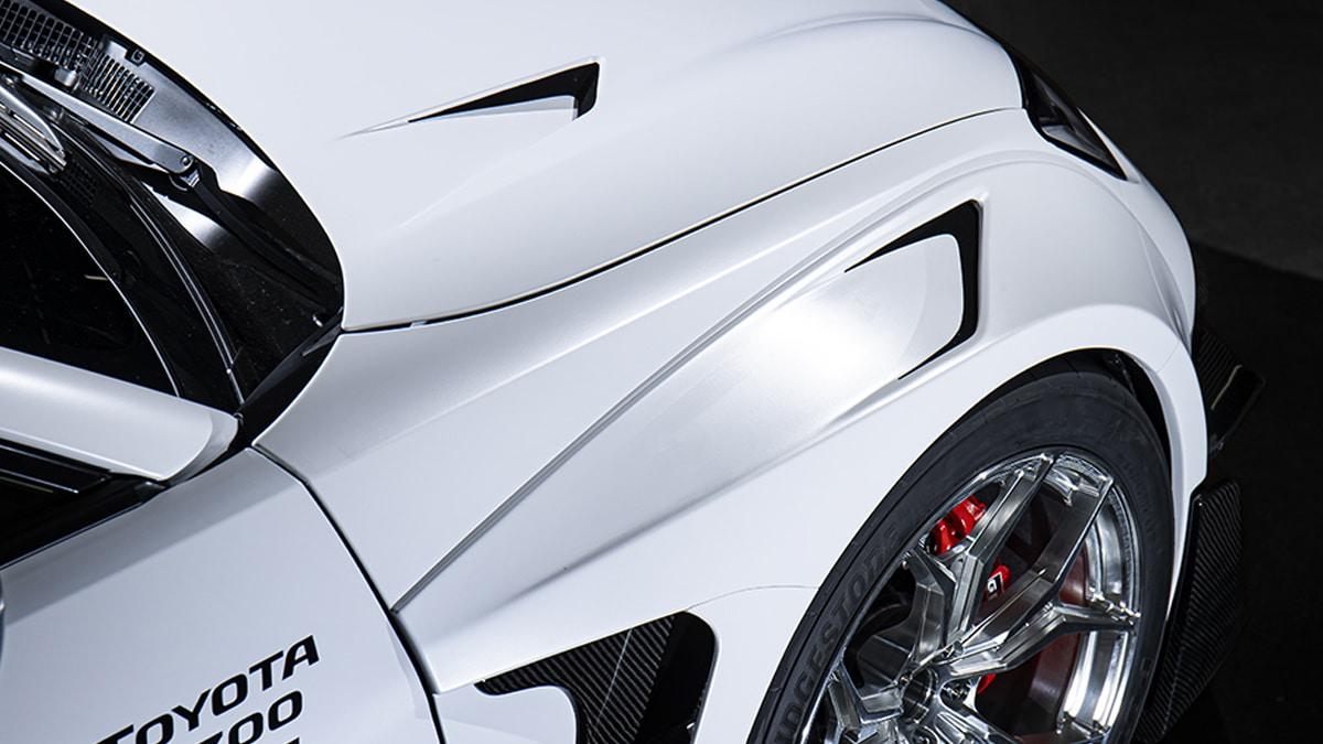 Toyota gr86 concept front fender
