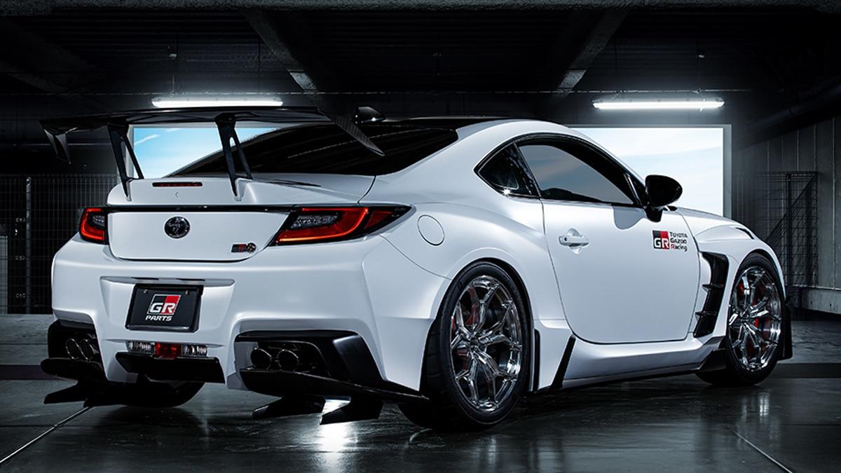 Toyota gr86 concept rear