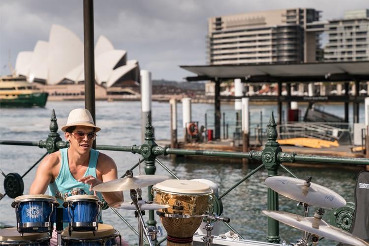 toyota global street band drum pads