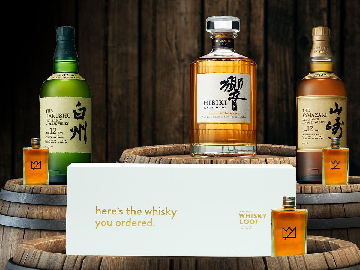 Whisky loot top shelf japanese