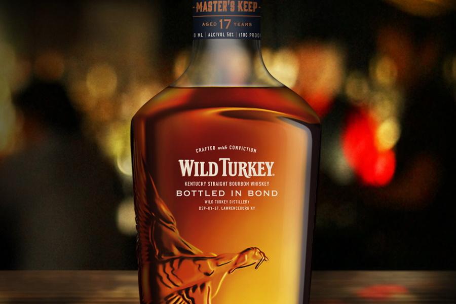 wild turkey bottled in bond whiskey