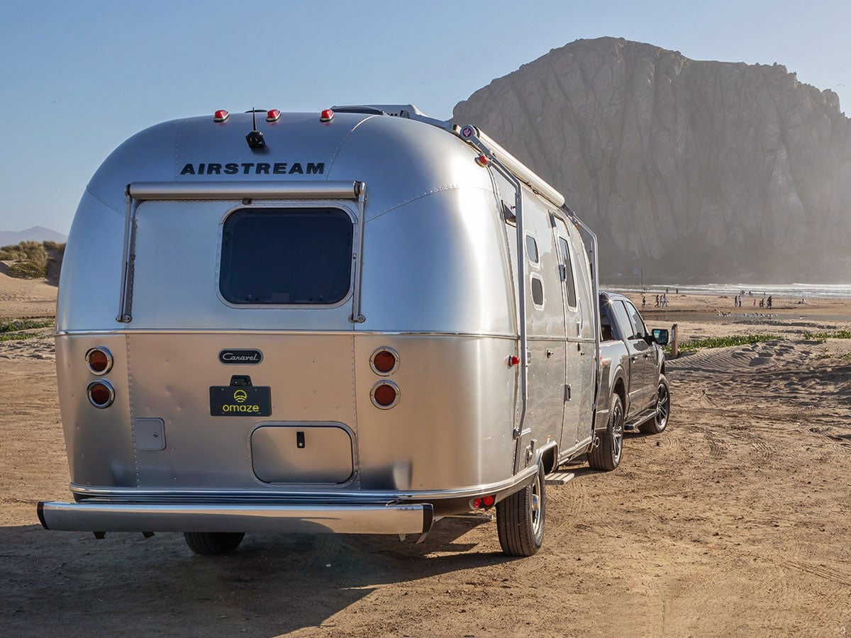 Win an airstream caravel and a 2021 ford f 150 to tow it 1 1