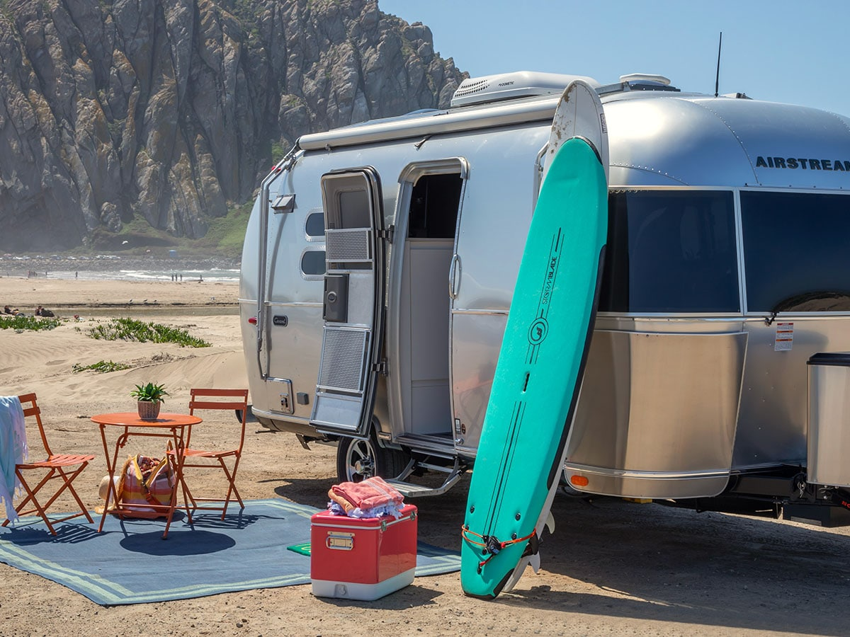 Win an airstream caravel and a 2021 ford f 150 to tow it 4