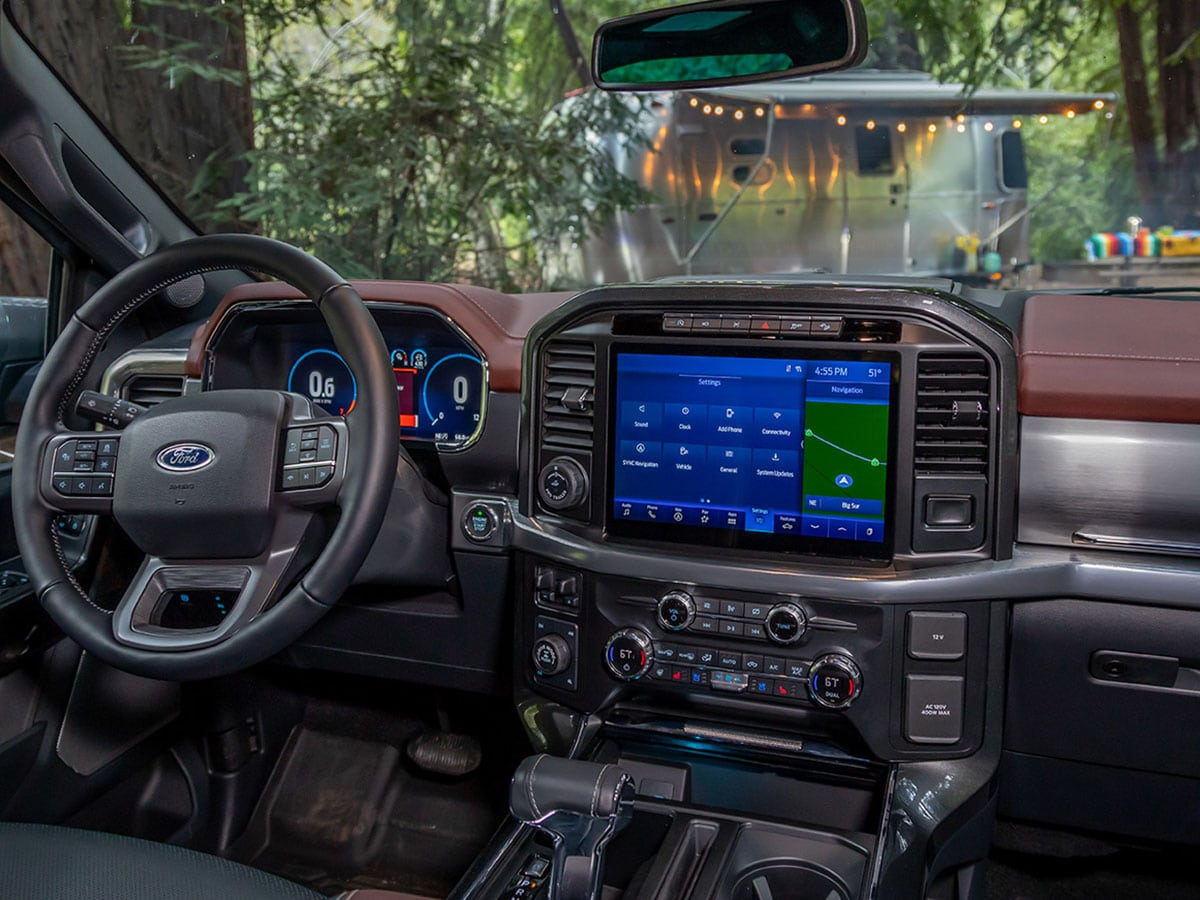Win an airstream caravel and a 2021 ford f 150 to tow it