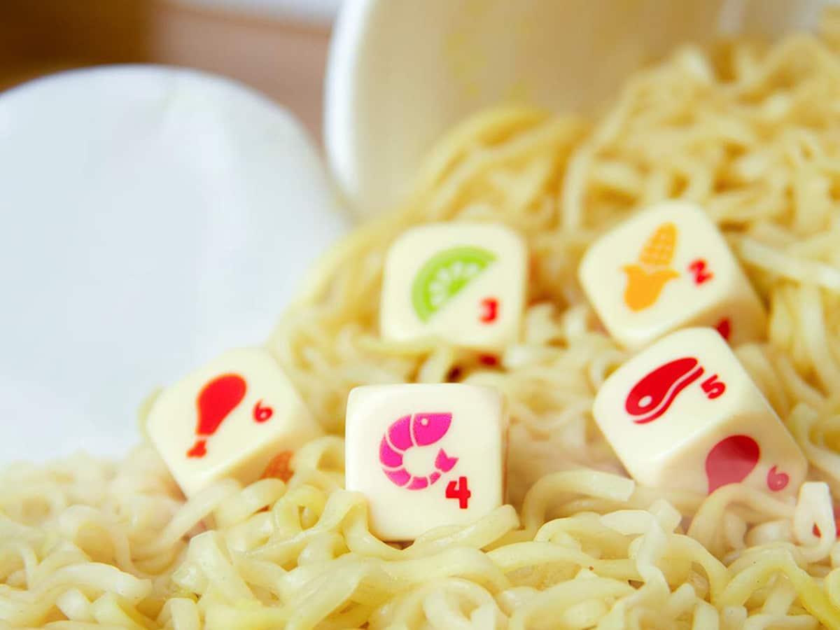Yahtzee cup noodles special edition 1