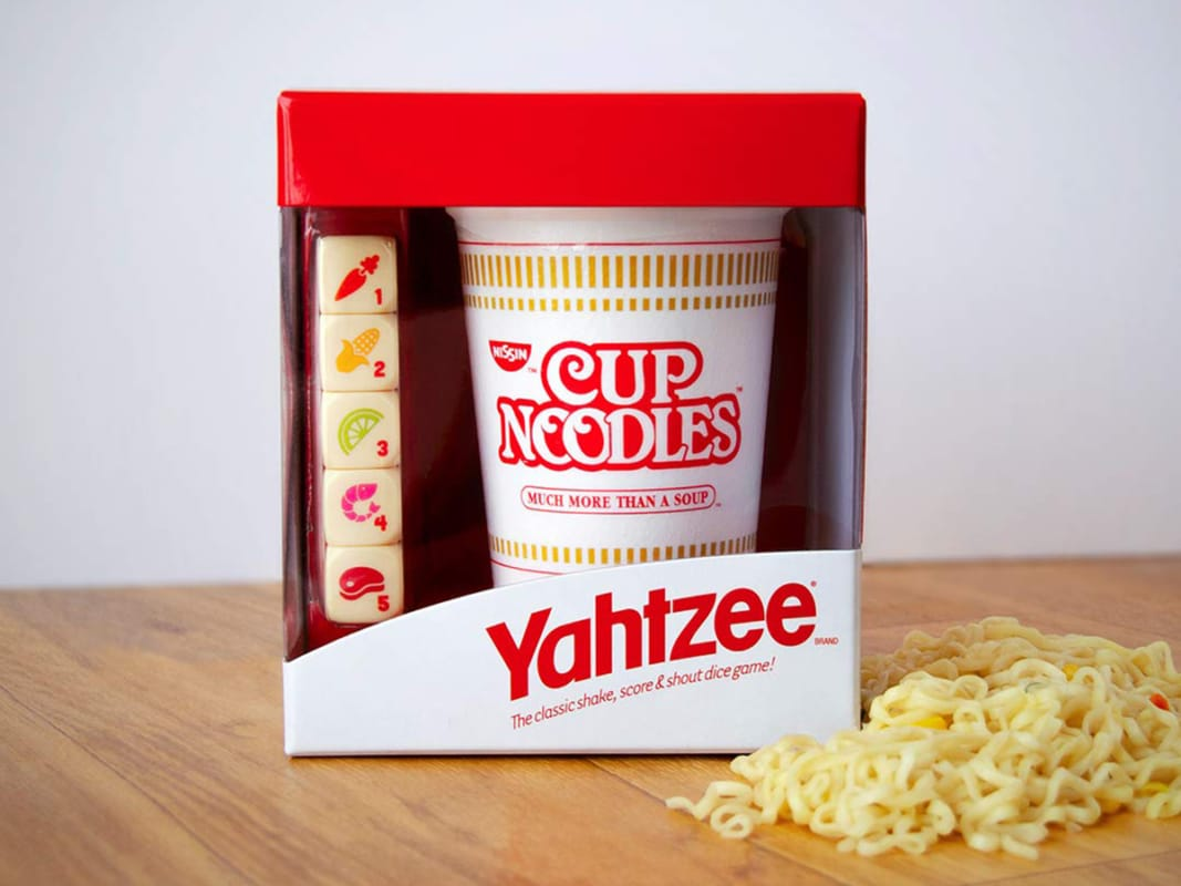 Yahtzee cup noodles special edition 2