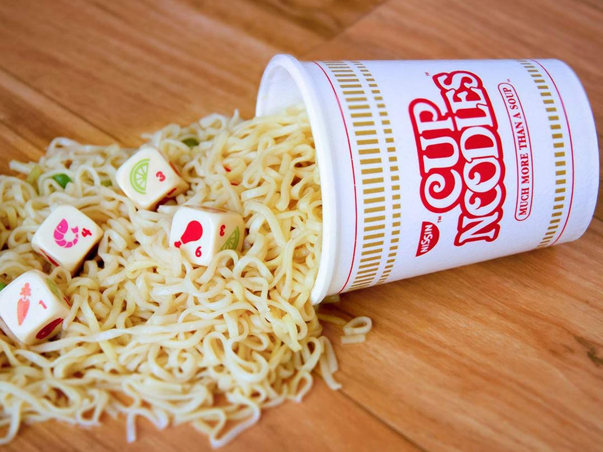 Yahtzee cup noodles special edition