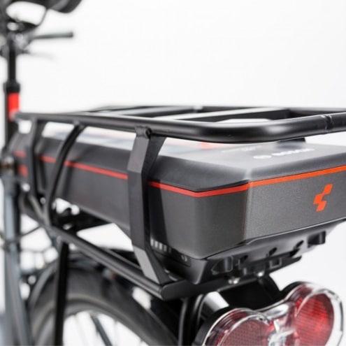 electric bicycle back seat box