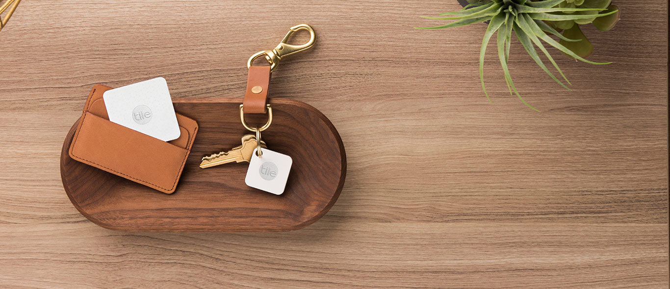 tile wallet and key
