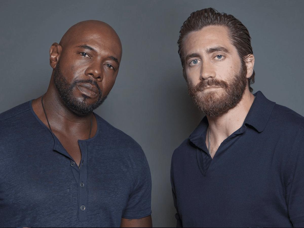 Jake Gyllenhaal and Antoine Fuqua