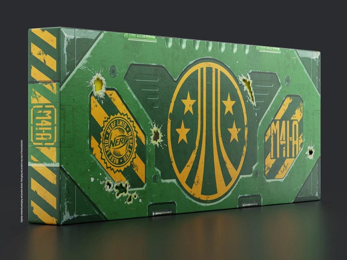 Nerf aliens pulse rifle 3