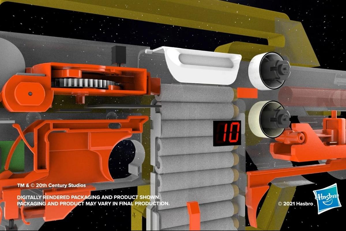 Nerf aliens pulse rifle 4