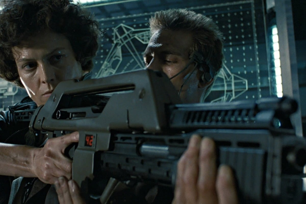 Nerf aliens pulse rifle 6