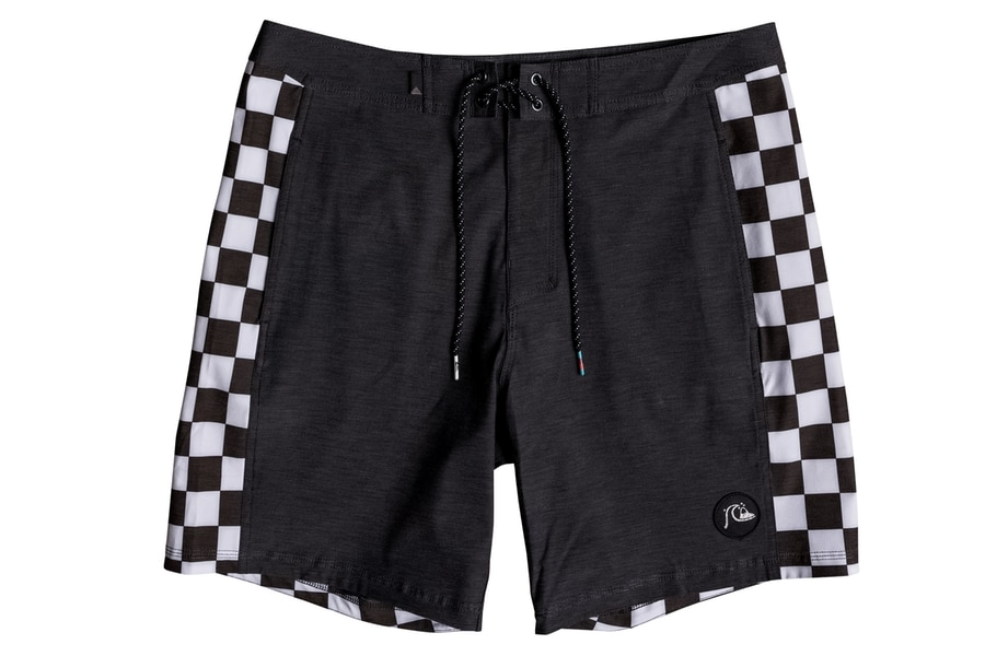 quiksilver highline boardshorts black and white