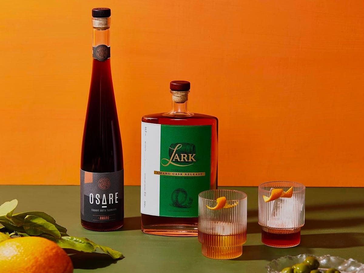 1 lark amaro cask single malt whisky