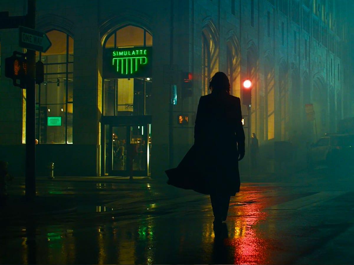 1 the matrix ressurections trailer