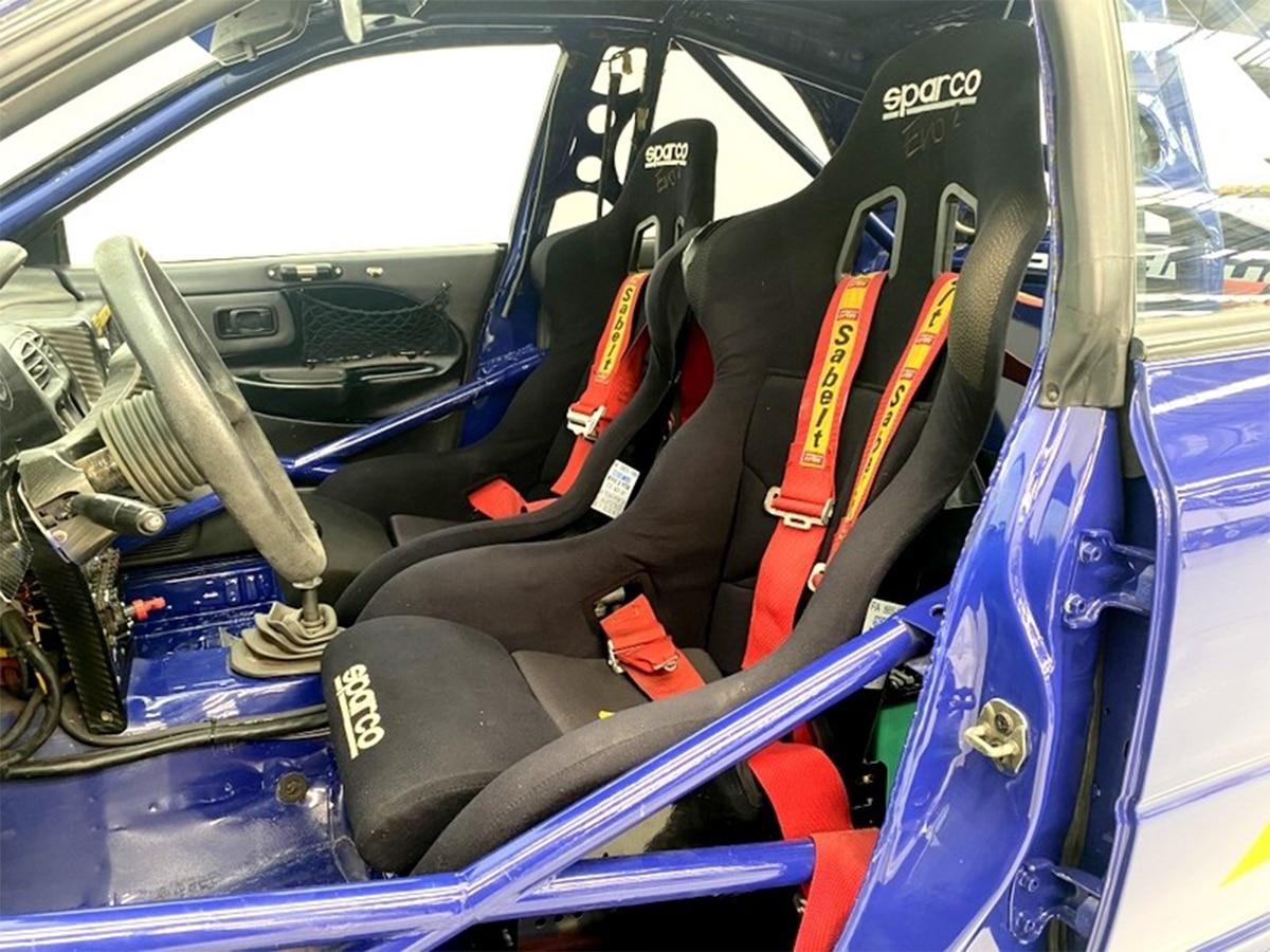 1994 subaru prodrive 555 grp a interior