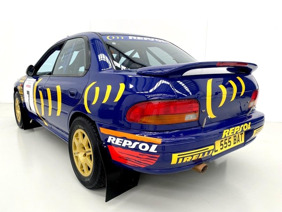 1994 subaru prodrive 555 grp a rear end