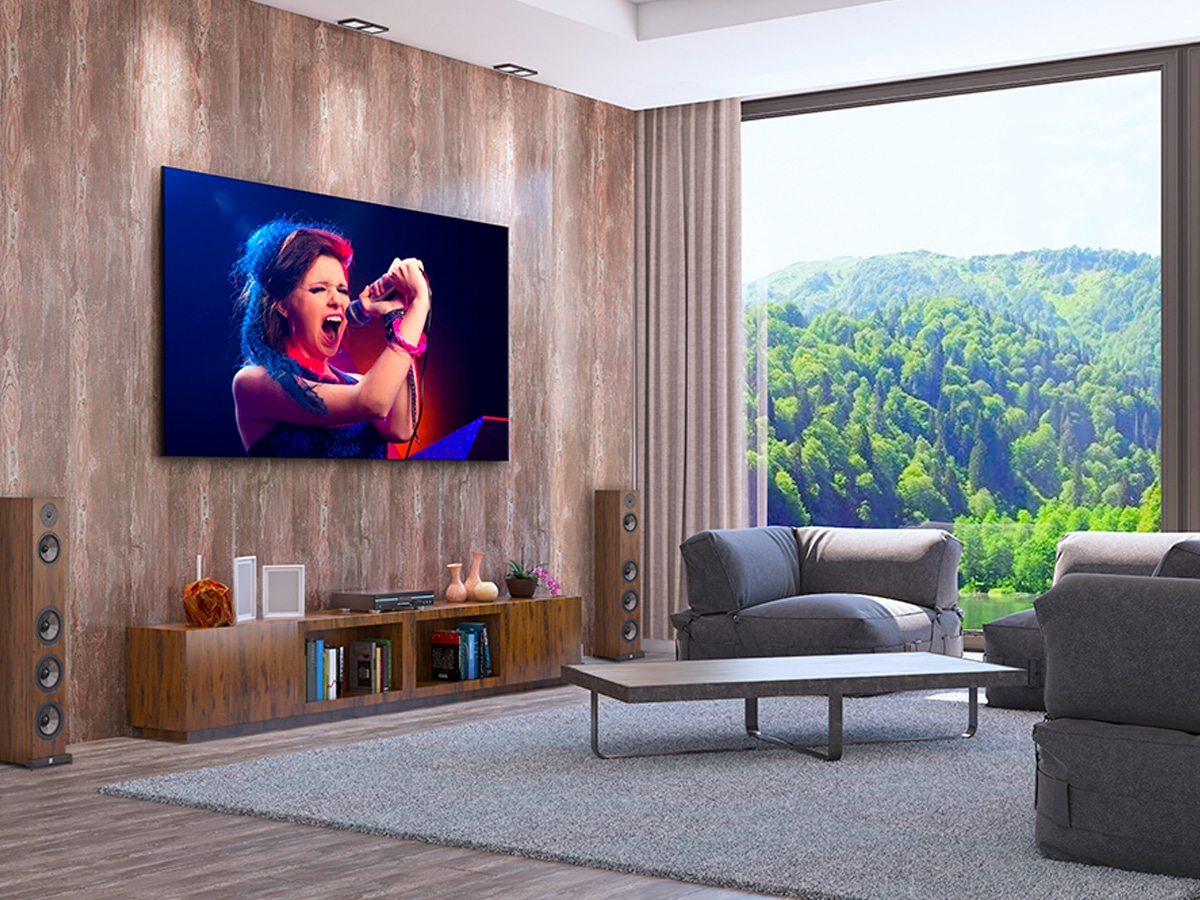 2 lg 8k 325 inch dvled tv