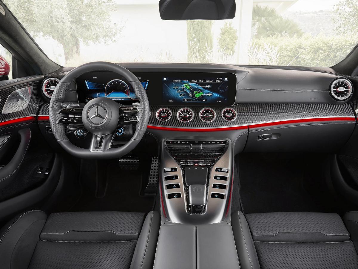 2022 mercedes amg gt63 s e performance interior