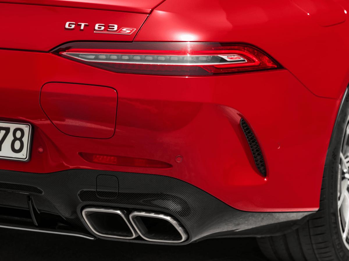 2022 mercedes amg gt63 s e performance rear end