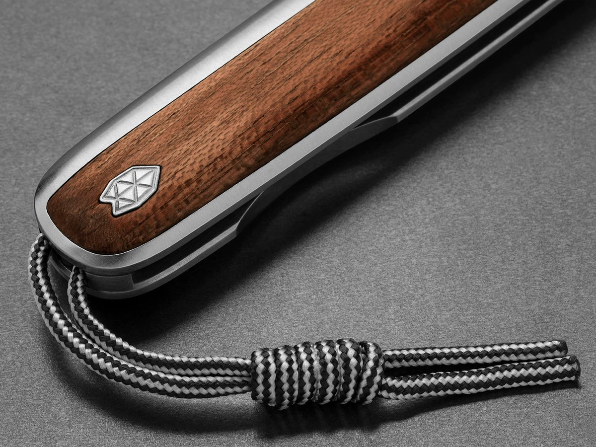 5 james brand rosewood and damasteel collection