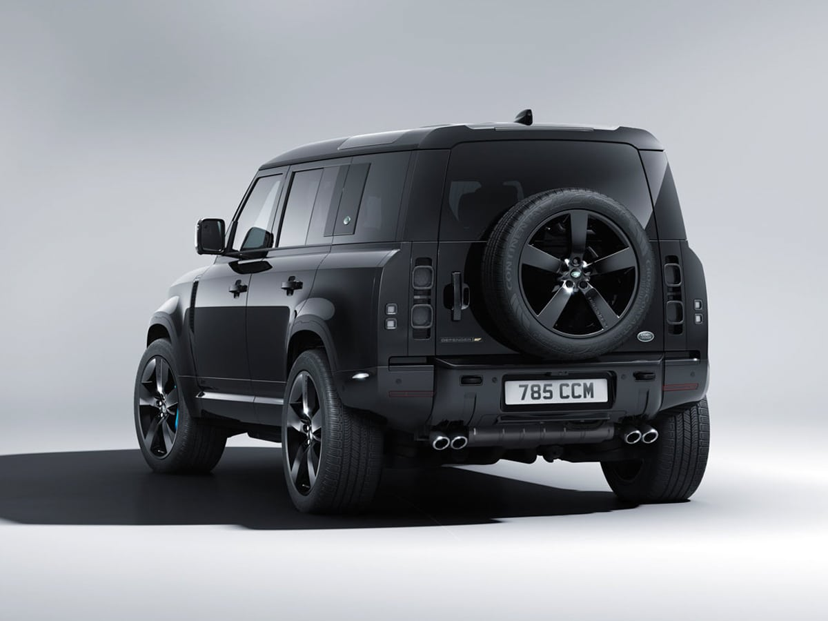 5 land rover no time to die defender