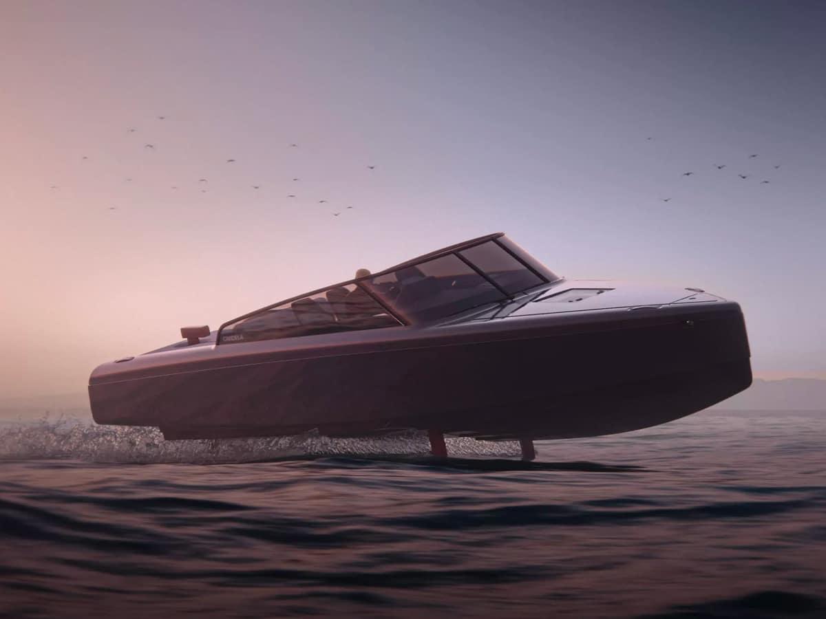 5candela c 8 hydrofoil speedboat