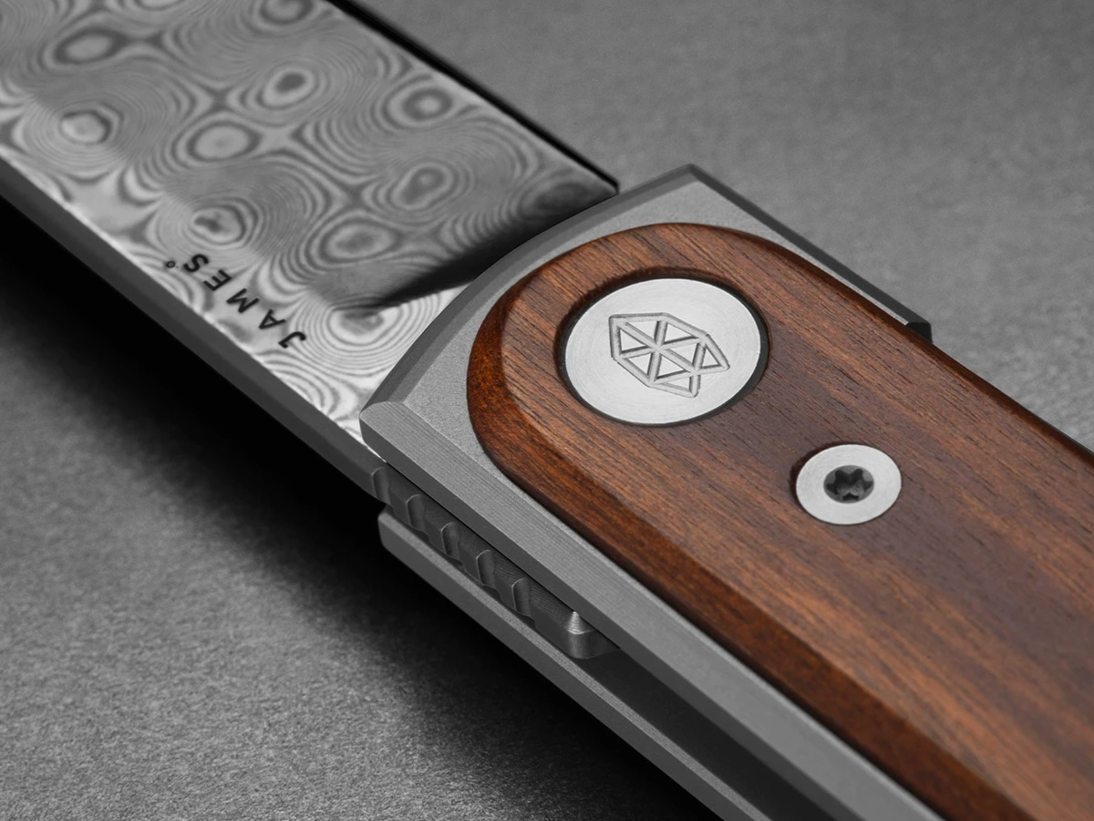 8 james brand rosewood and damasteel collection