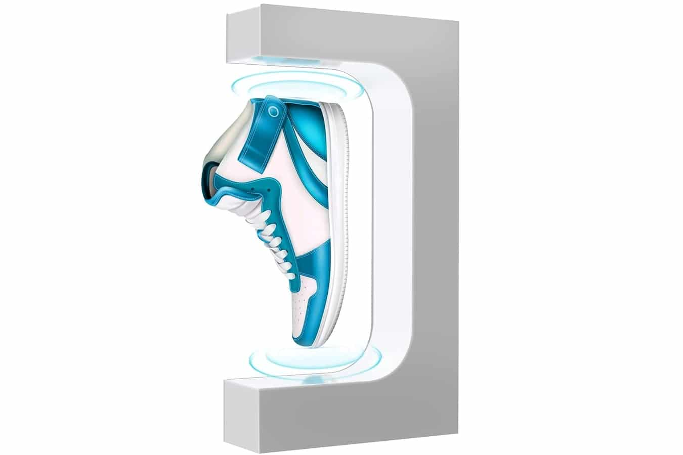 ur c floating ultra magnetic suspension shoes stand levitating floating shoes display