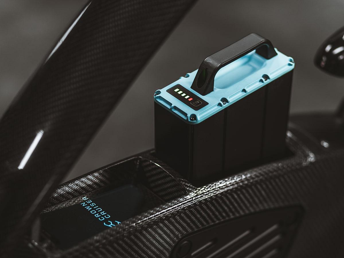 Crowncruiser battery