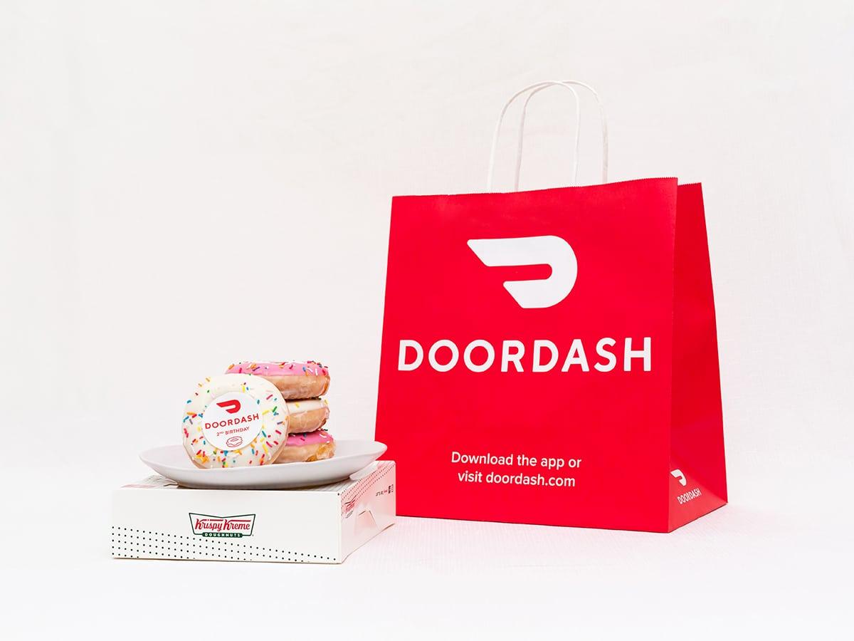 Doordash doughnuts