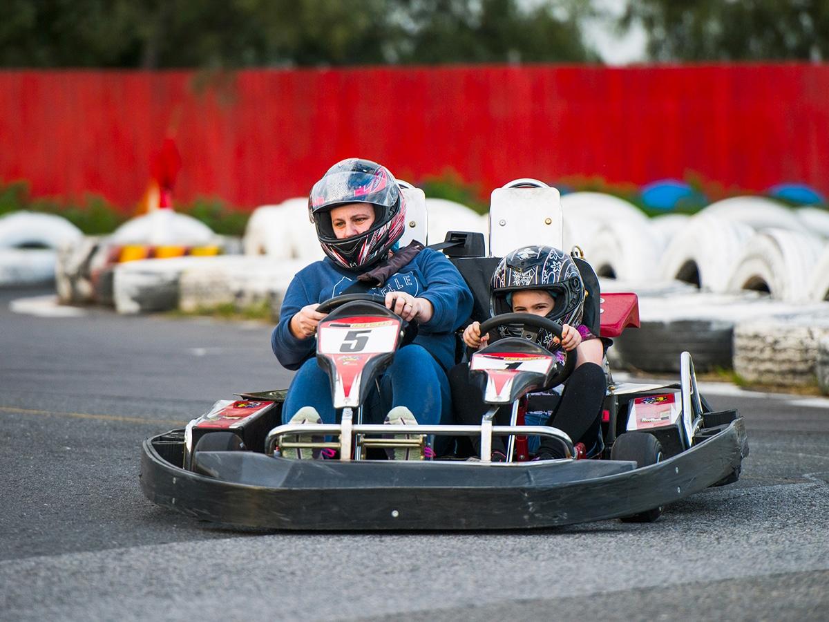 Fast lane karts