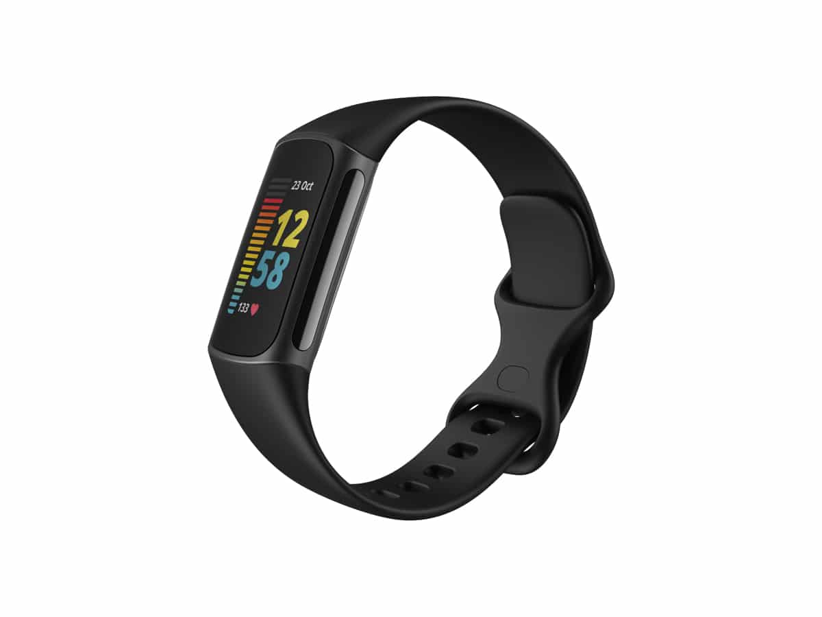 Fitbit charge 5 leftside