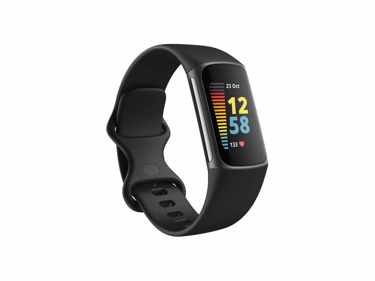 Fitbit charge 5 slightside