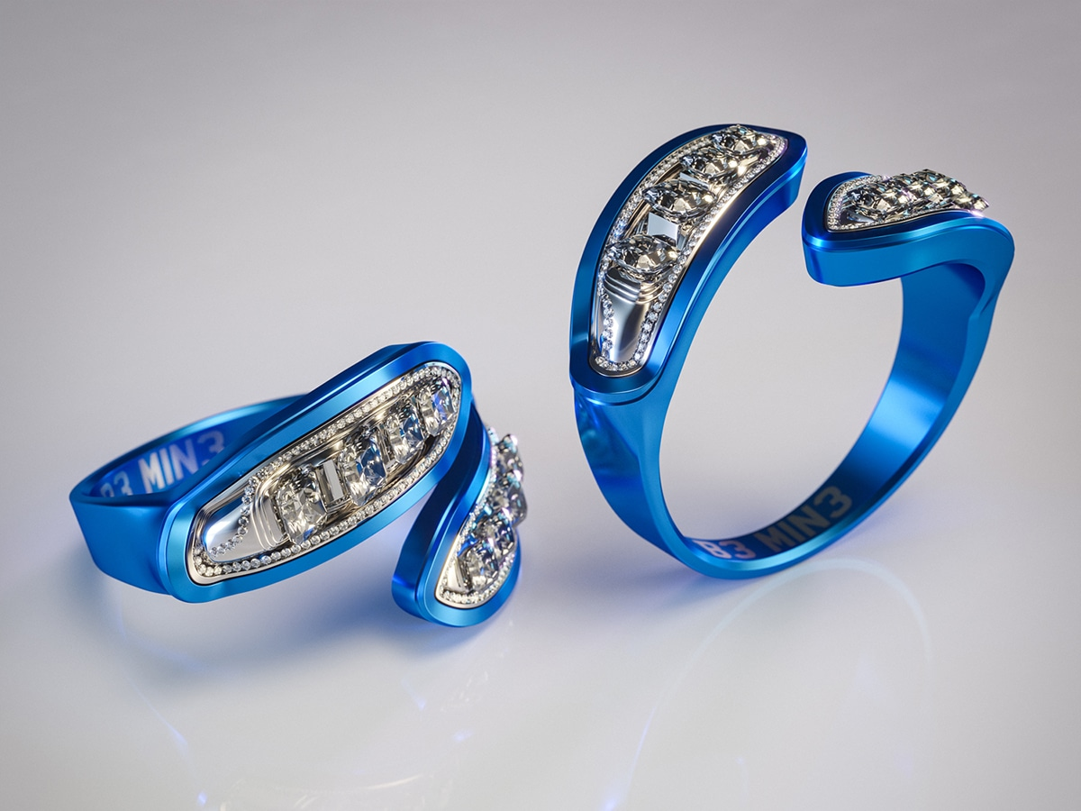 Ford fiesta engagement ring