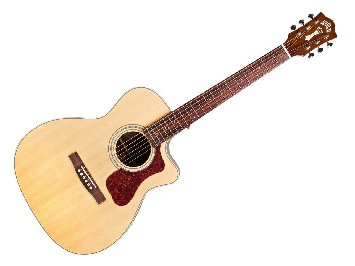 Guild om 140e acoustic guitar
