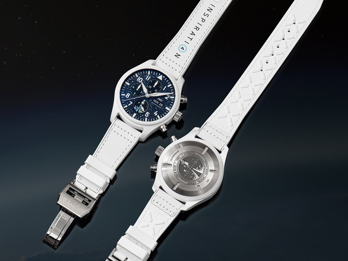 Iwc inspiration4 front and back